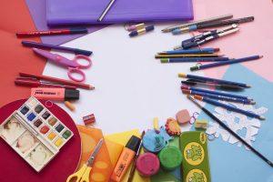 Prinses Beatrixschool Renkum - tekening en kleur spullen